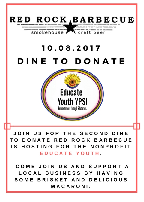 Dine to donate